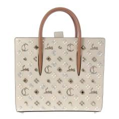Leather Oversize Bag Christian Louboutin