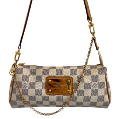 Sac en bandoulière en cuir Louis Vuitton Eva pas cher