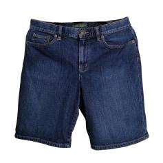 Short en jean Ralph Lauren  pas cher