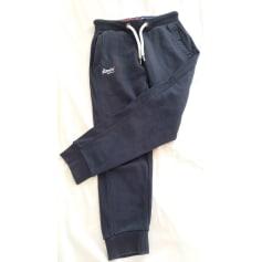 Pantalon large Superdry  pas cher