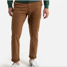Pantalon droit La Redoute  pas cher