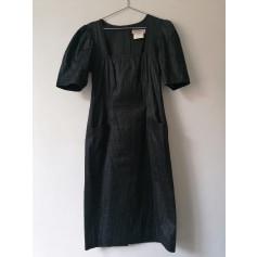 Robe mi-longue Yves Saint Laurent  pas cher