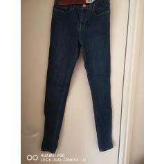 Jeans droit Zapa  pas cher