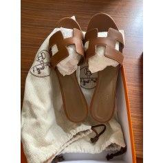 Sandales à talons Hermès Oasis pas cher