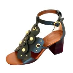 Sandales à talons See By Chloe  pas cher