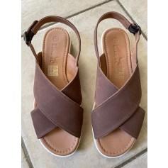 Sandales plates  Kangol  pas cher