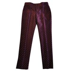 Pantalon slim, cigarette Red Valentino  pas cher