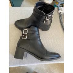 Santiags, bottines, low boots cowboy La Halle  pas cher