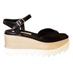 Sandales compensées Stella Mccartney  pas cher