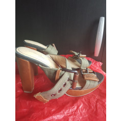Sandales à talons G-Star  pas cher