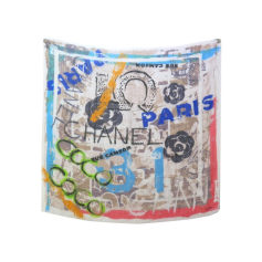 Echarpe Chanel  pas cher