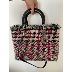 Stoffhandtasche Dior LADY DIOR