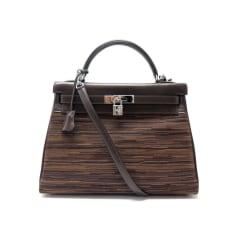 Leather Handbag Hermès Kelly