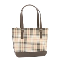 Non-Leather Oversize Bag Burberry