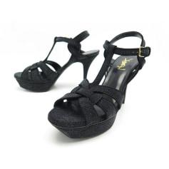 Sandales plates  Yves Saint Laurent  pas cher