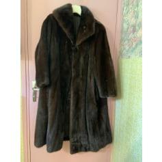 Manteau en fourrure Anghilante Soeur  pas cher