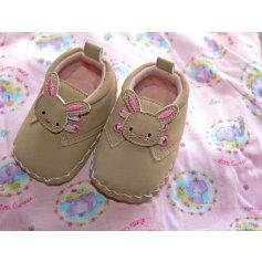 Chaussures à scratch Chaussures fille  pas cher