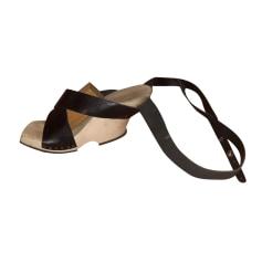 Sandales compensées trippen  pas cher