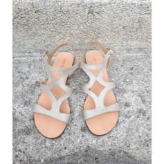 Sandales plates  San Marina  pas cher