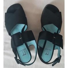 Sandales compensées Thierry Rabotin  pas cher