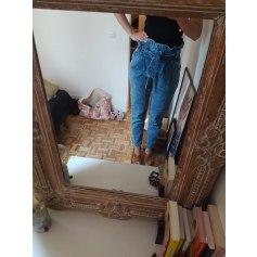 Jeans large, boyfriend Sézane  pas cher