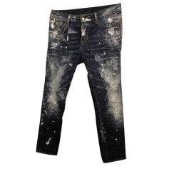 Straight Leg Jeans Dsquared2