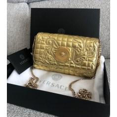 Sac pochette en cuir Versace  pas cher