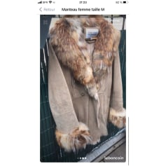 Manteau en fourrure Italia Independent  pas cher