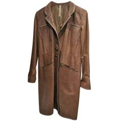Manteau en cuir Sportmax  pas cher