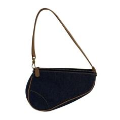 Handtasche Stoff Dior Saddle