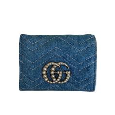 Porte-monnaie Gucci Marmont pas cher