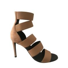 Sandales à talons Balmain  pas cher