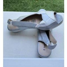 Sandales compensées Lady Comfort  pas cher