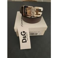 Ceinture fine Dolce & Gabbana  pas cher