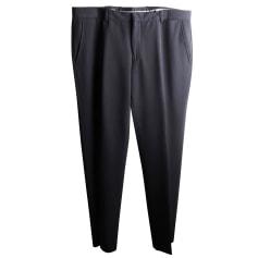 Straight Leg Pants Emporio Armani