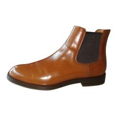 Bottines & low boots plates Church's  pas cher
