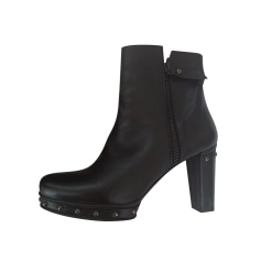 Bottines & low boots à compensés Stuart Weitzman  pas cher