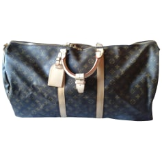 Leather Shoulder Bag Louis Vuitton Keepall