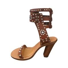 Sandales à talons Isabel Marant Caroll pas cher