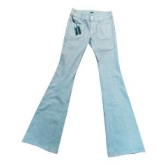 Jeans très evasé, patte d'éléphant Tommy Hilfiger  pas cher