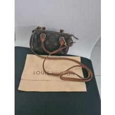 Sac en bandoulière en cuir Louis Vuitton Speedy pas cher