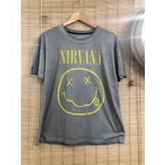 Top, tee-shirt Nirvana  pas cher
