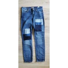 Pantalon droit Mandarin  pas cher