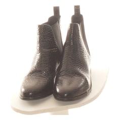 Bottines & low boots plates Bobbies  pas cher