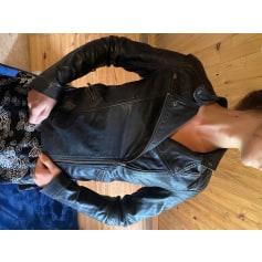 Blouson en cuir Comptoir Des Cotonniers  pas cher
