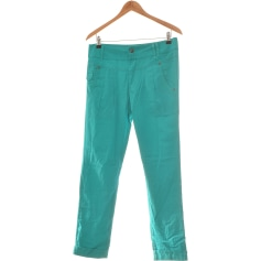 Pantalon droit Only  pas cher