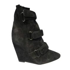 Bottines & low boots à compensés Isabel Marant  pas cher