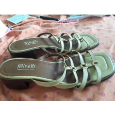 Sandales plates  Minelli  pas cher