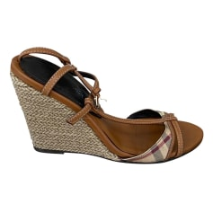 Wedge Sandals Burberry