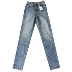 Jeans large, boyfriend Tommy Hilfiger  pas cher